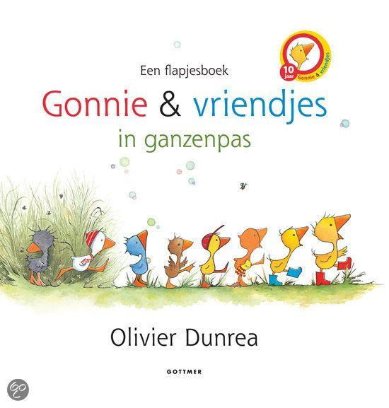 | Gonnie en vriendjes in ganzenpas, Olivier Dunrea | 9789025756154 | Boeken...