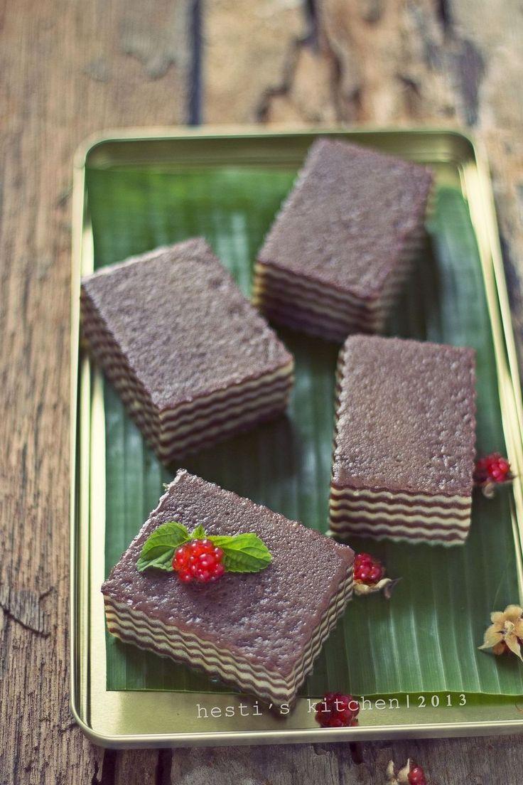 HESTI'S KITCHEN : yummy for your tummy: Lapis Cokelat Susu NCC