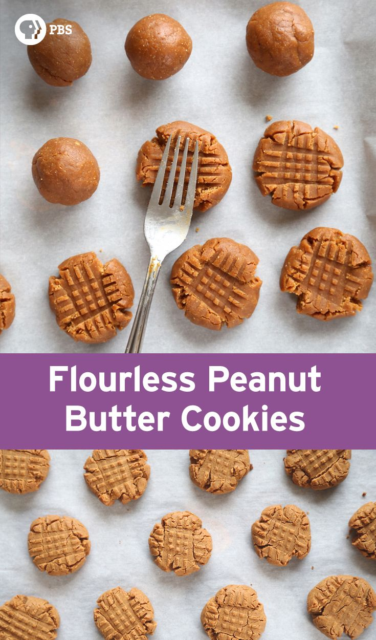 This Flourless Peanut Butter Cookies recipe is a quick, one bowl recipe that's ready in ten minutes.
