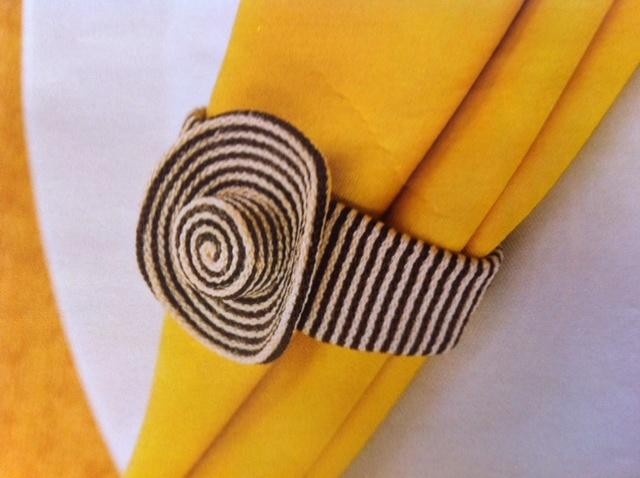 Traditional sombrero voltea napkin rings. #cartagena wedding #wedding decor. #tableplacement www.team-bride.com