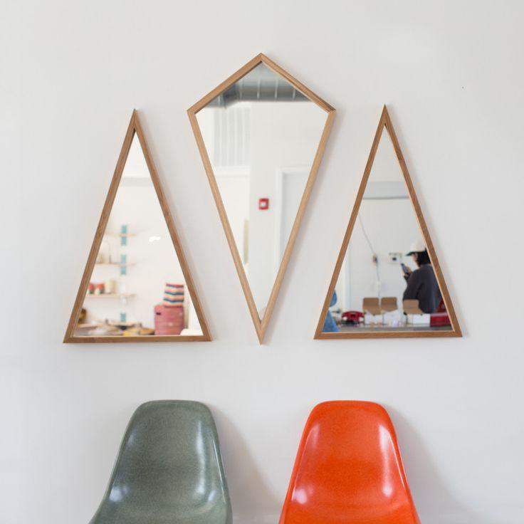 Mirrors & Angles! Stylish #decor by WILDERlife — Isosceles Mirror