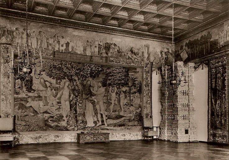 Wawel Castle. Krakow. /Sala Poselska, Kraków - 1962 rok