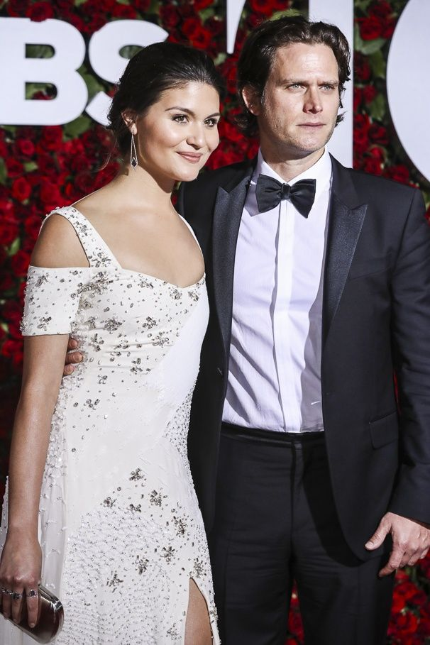 Hamilton Best Actress in a Musical Nominee Phillipa Soo and Steven Pasquale at the 2016 Tony Awards Red Carpet   Broadway.com