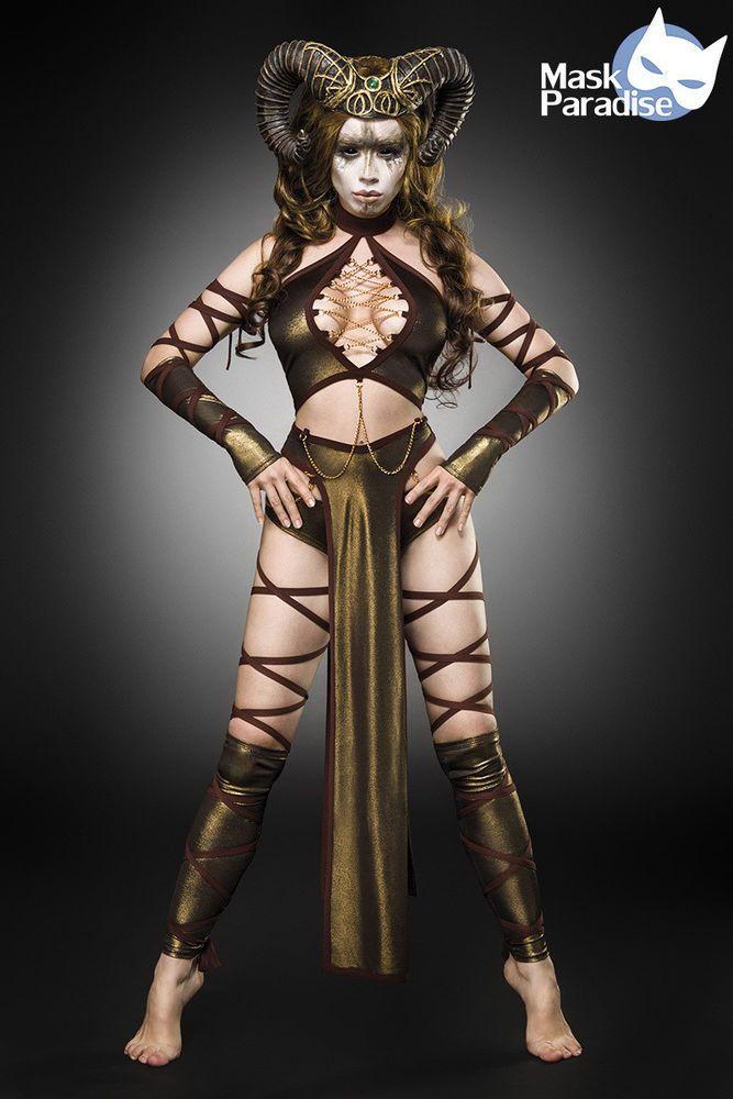 Kostüm Gothic Fasching Karneval Damen Verkleidung Halloween NEU