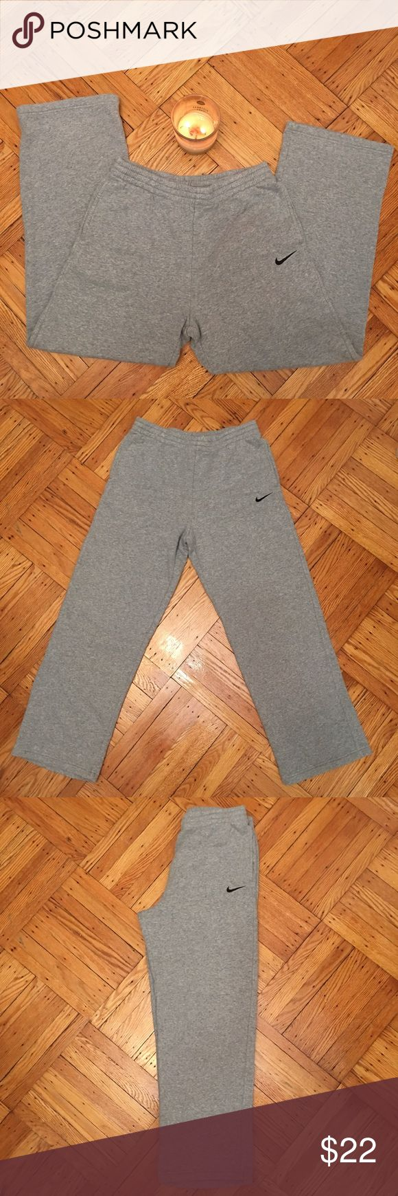 NWOT-Nike Grey Jogging Pants..Boys X-large.Run Big NWOT-Nike Grey Jogging Pants..Boys X-large run big...Old but never worn in excellent condition.. They run big!!! More like a small... I listed this item under men's small Nike Pants Sweatpants & Joggers