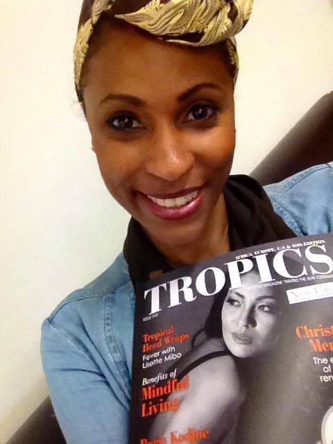 #Selfie • Sandra Bison (Paris, FRANCE) is a proud reader of #TropicsMagazine.