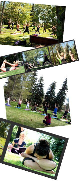 Outdoor Yoga Calgary - Stanley Park 1pm on Sundays