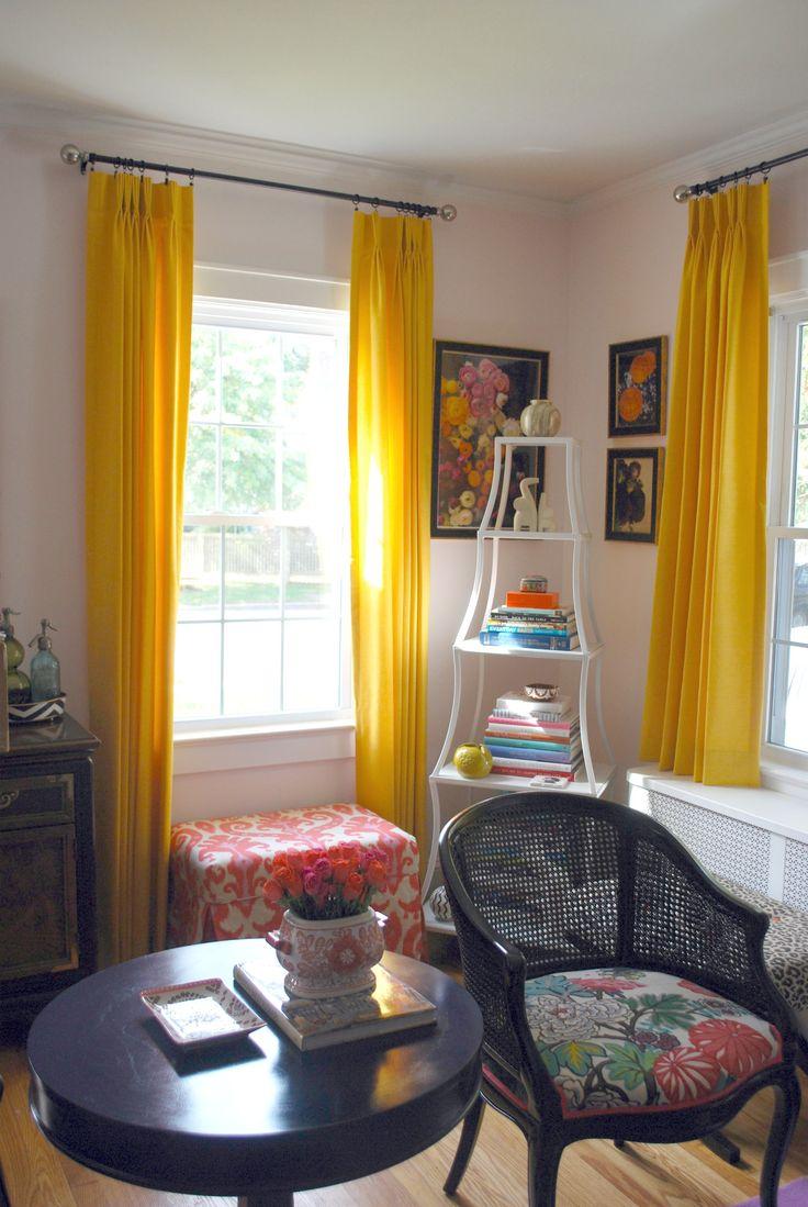Yellowcurtainseffortlessstyle. Bright CurtainsYellow CurtainsGrey  YellowMustard ...  Mustard Yellow Curtains