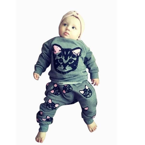 [HOT] 2 Piece Kitty Outfit for Children!