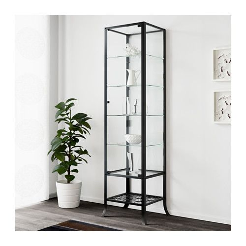 KLINGSBO Glass-door cabinet  - IKEA
