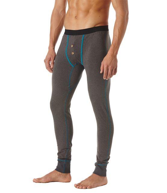 Super soft organic men's long John underwear from Wear PACT. Fair Trade Certified cotton long john's you will love every day. Shop organic men's underwear now!
