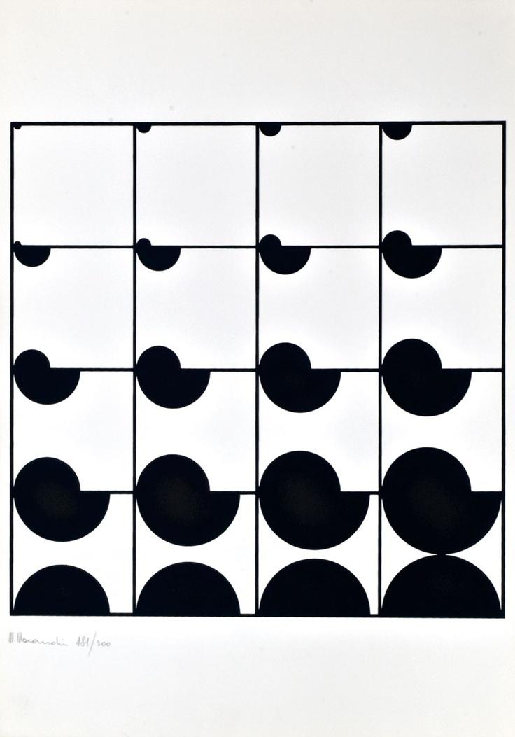 238 best opart images on pinterest op art optical for Geometric illusion art