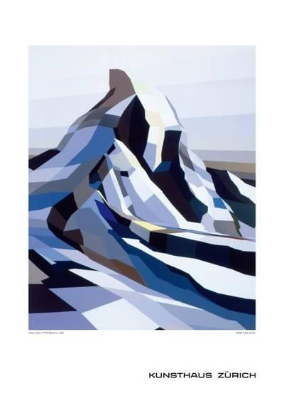 Torben Giehler, (*1973)  Matterhorn, 2002  70 x 50 cm