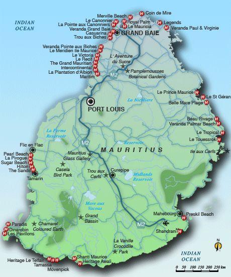 12 best Mauritius Maps  images on Pinterest