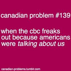 Oh! God forbid those Americans speak of us! Haha! Just kidding!