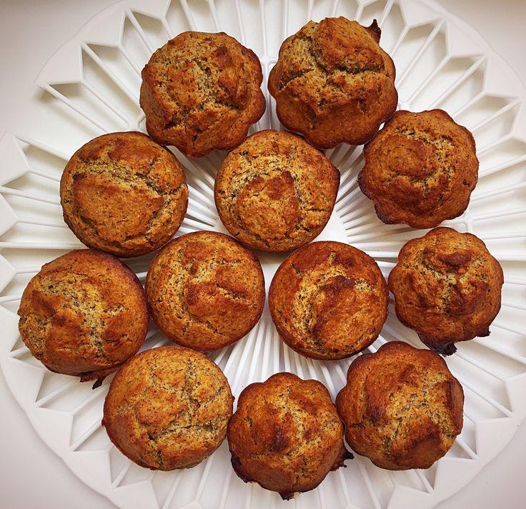 Muffin di grano saraceno allo zenzero – ilfornodiolly