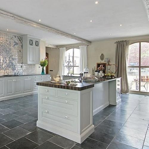 Off White Kitchen Cabinets With Slate Appliances: 1000+ Images About Kitchen On Pinterest