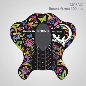 Mosaic Round Forms