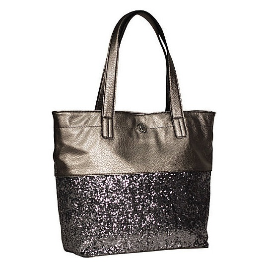 Jessica Simpson Purses And Handbags | Jessica Simpson Jet Setter Tote 2 Gunmetal/Bronze - Jessica Simpson ...