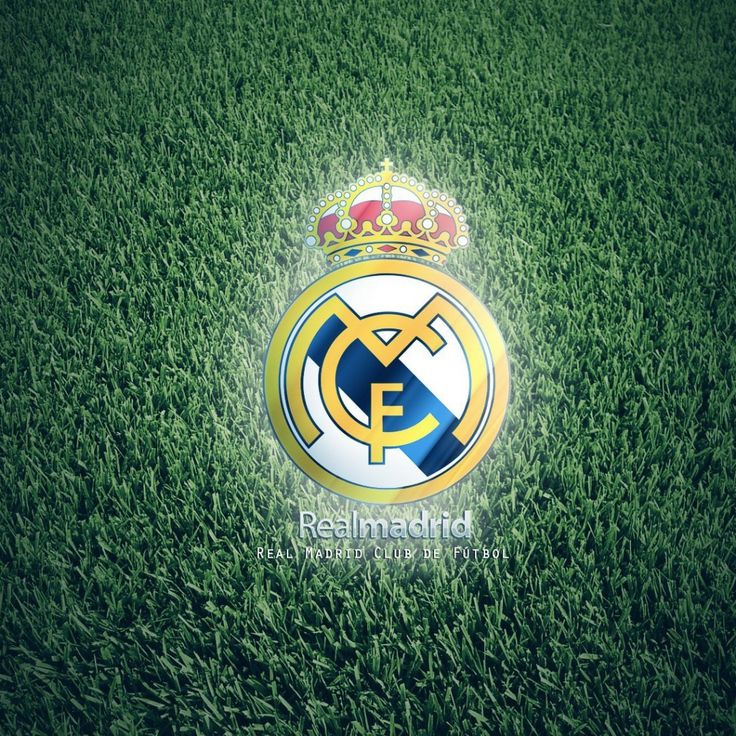 Real Madrid Football Club Logo Wallpaper