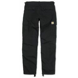Pantalon Carhartt Aviation Pant Black dispo chez Central Skate shop. Coupe Slim Fit, 100% Cotton. Livraison sous 48 heures. #carharttwip #carhartt #cargopant #skate #skateboard #skateshop #onlineskateshop