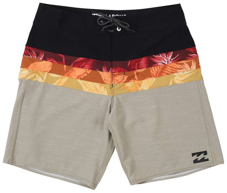 "BILLABONG MEN'S MOMENTUM X 19"" BOARDSHORTPlatinum X Range. Serious about performance and comfortable, rash free sessions. A refined fit without excess..."