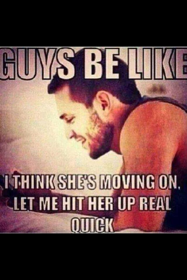 Guys be like ....