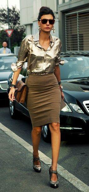 Sparkle & Shine Fashion. Sex and the City Street fashion ....GIOVANNA BATTAGLIA