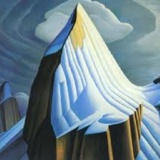Canadian Art Group of Seven own this print by Lawren  Harris.  Love it!