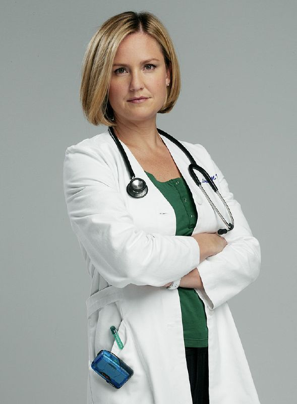Dr. Susan Lewis...Sherry Stringfield... I liked her on ER