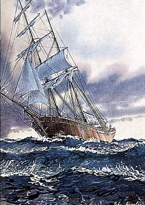 Inilah Tragedy misterius Mary Celeste