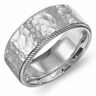 Crown Ring - Collections Wedding Bands Carved Wb 9969 M10
