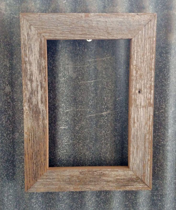 75 best Barn Wood Frames images on Pinterest | Barn wood frames ...