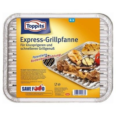 Toppits Express-Grillpfanne
