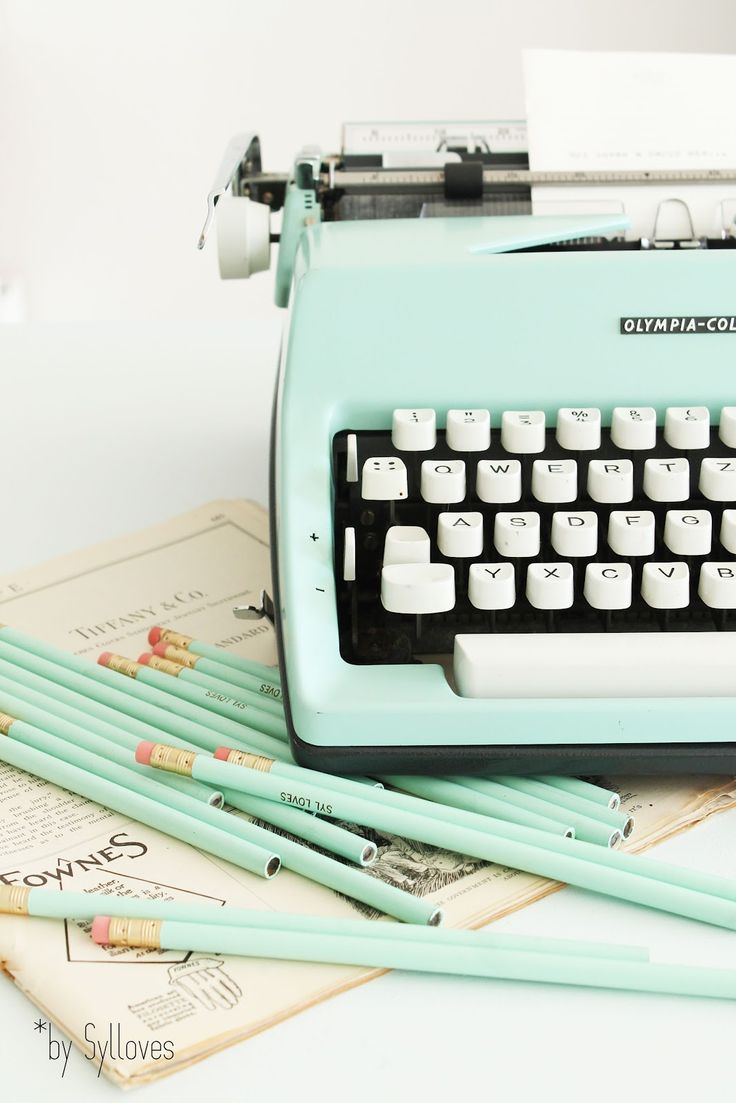#mint #typewriter