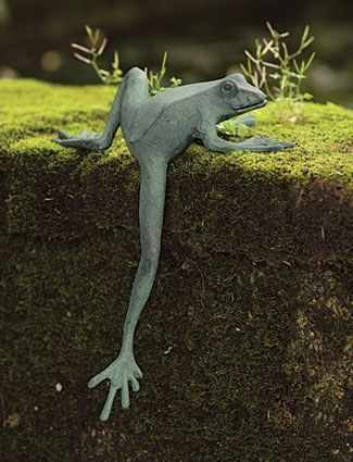 Climbing Frog | Charleston Gardens® - Home and Garden Collection Classic outdoor and garden furnishings, urns & planters and garden-related gifts