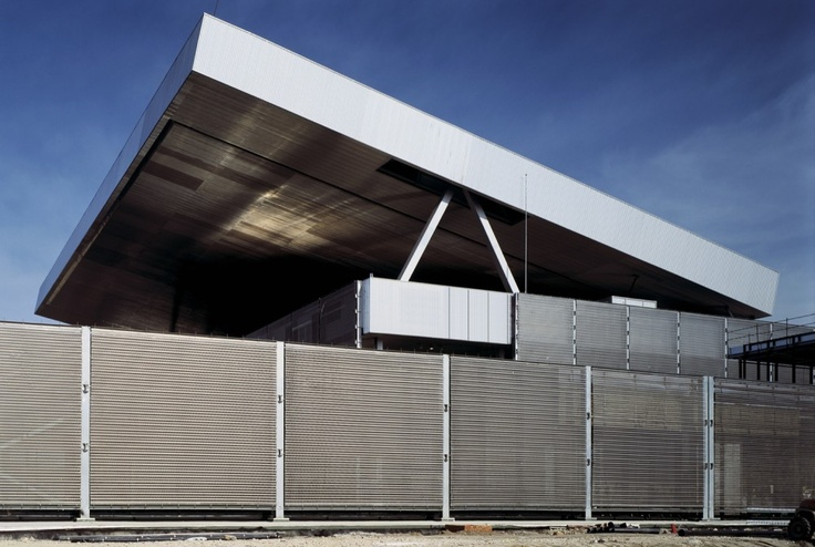 Olympic Tennis Centre / Dominique Perrault Architecture