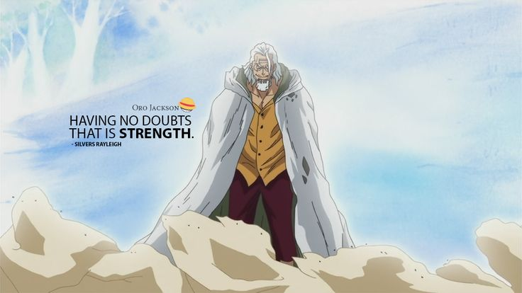 Rayleigh‬ being a bad-ass, explaining what is strength! ‪#OnePiece