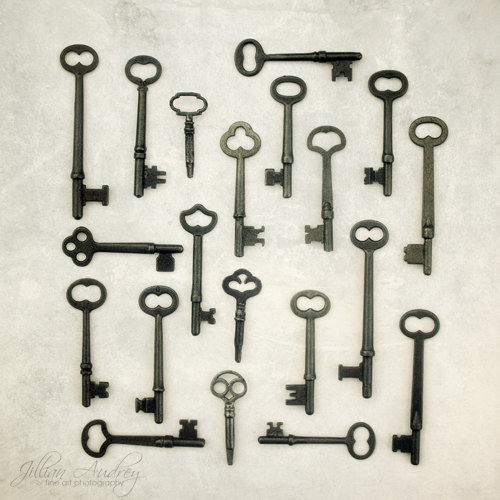 The Key Collection Photograph by JillianAudreyDesigns @Carly Jay