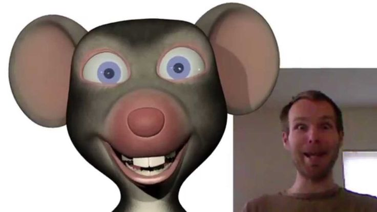FaceShift Demo - Max the Mouse