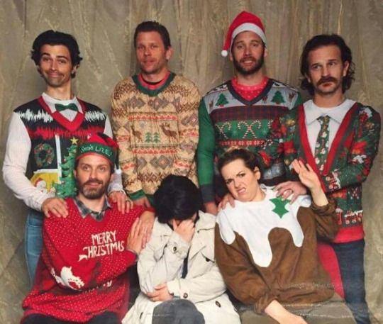 from Supernatural Cast Christmas Special with Jason Manns 2015