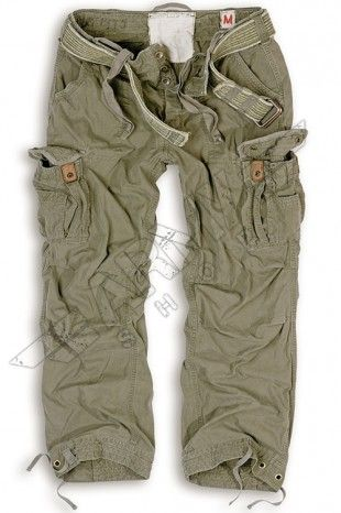 Pantaloni militari Premium Vintage - Surplus - Oliva   Abbigliamento Militare
