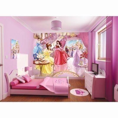 Fairy Princess Wallpaper Mural 8 x 10ft - Walltastic £44.99 #Fairy #Princess #WallpaperMural #BabyGirl #BabyGifts #BedroomMural