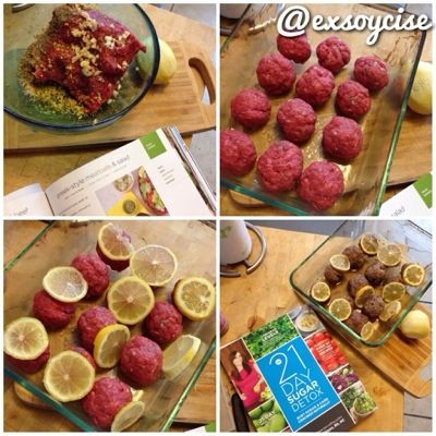 Greek-style Meatball recipe from the 21 Day Sugar Detox Book