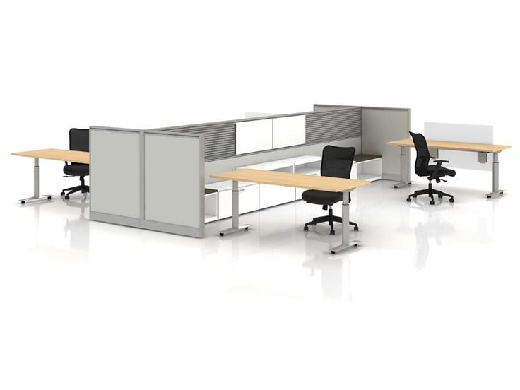 Best Systems At Work Images On Pinterest Office Furniture - Kimball office furniture