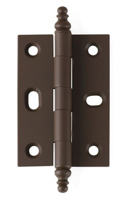 High Quality Decorative Tip Mortised Cabinet Hinge In Old Antique (oil Rubbed Bronze)