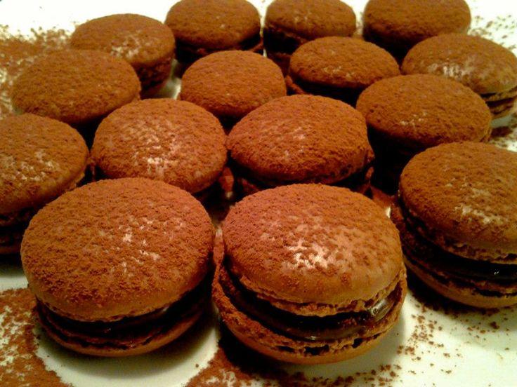 Macaron-chocolate