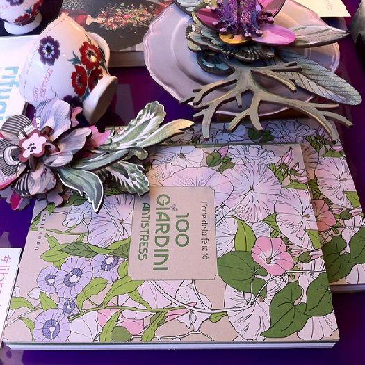 Continua #librerieinfiore ... Vieni a provare il nostro sistema DE-STRESS !!  #LibreriaDelSole #libri #eventi #fiori