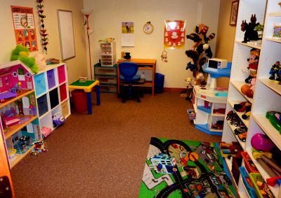 like this play therapy room