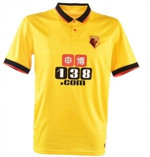 Watford FC Home 16-17 Season Yellow Soccer Jersey [I507]